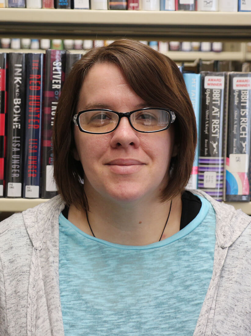 Danielle Featherston, Technical Services Manager