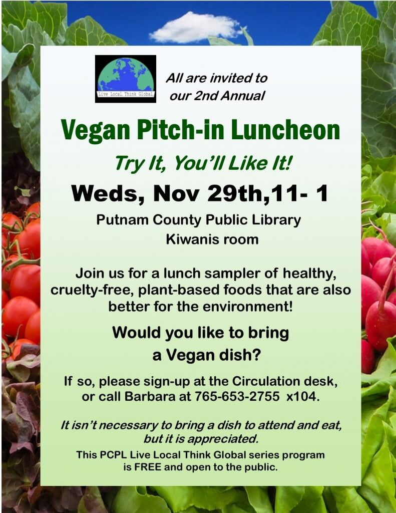 2nd Annual Vegan Pitch-In